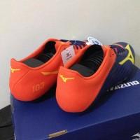 Berkualitas Sepatu Bola Mizuno Basara 103 Md Navy Orange P1Ga176454