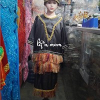 baju adat anak irian papua perempuan adat tradisional