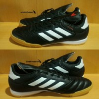 Sepatu Futsal Original   Adidas Copa 17.3 IN Leather - Black White