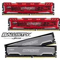 RAM GAMING Crucial BALLISTIX SPORT 8GB DDR4-2400 288 pin UDIMM