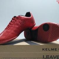 TERMURAH SEPATU FUTSAL - KELME  STAR 9 RED/BLACK ORIGINAL #550102 NEW