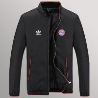 Jaket Black Parasut Logo Bayern Munchen