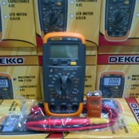 ORIGINAL - Dekko DM-133D Digital Multitester Multimeter Avometer