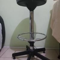 kursi bar stool manual kursi cafe barstool bangku tinggi besi murah