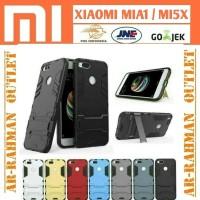 Xiaomi mia1 mi a1 5x mi5x casing case back cover armor robot stand TPU