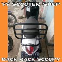 Aksesoris Scoopy Back Rack Scoopy