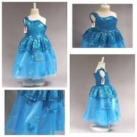 sabrina dress gaun baju pesta anak cinderella frozen mewah princess