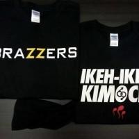 KAos Tshirt Baju Combed 30S Distro Brazzers Mofos