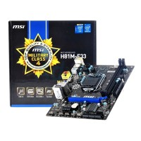 MSI H81M-E33 (LGA1150, H81, DDR3)