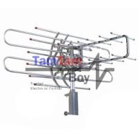 Antena TV UHF/VHF Outdoor Digital Remote Control Rotate Gerak PF 850