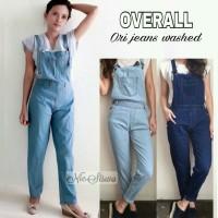 Overall jeans - Celana kodok - Baju kodok wanita