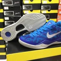 Sepatu Basket Nike Kobe 8 Blue Coral Biru Muda
