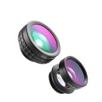 AUKEY PL-A1 smartphones Lens Set 3 in 1 - Hitam