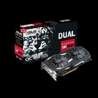 ASUS RX 580 DUAL OC 8GB DDR5