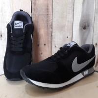 sepatu nike pria sport murah running lari kasual casual slop sneakers