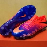 Sepatu Bola - Nike Hypervenom II Vivid Purple Sol Blue Made in Italy