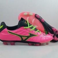 Sepatu Bola Mizuno Rebula V1 Pink Glow FG Replika import