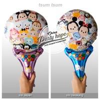 balon pentung tsum tsum / balon foil / balon stick / balon foil kartun