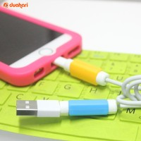 Pelindung Kabel Data ANDROID & IPHONE Cable Protector Android Charger