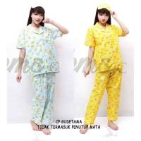 Piyama Polkatsum / gudetama Crayon tsum tsum Doraemon Celana Panjang