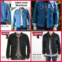 Jaket Levis Jeans jins Big Size Besar Pria Gemuk ukuran XXL XXXL 4XL