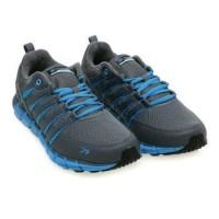 Diskon Sepatu Running (Spotec Storm) Grey/Blue Premium