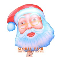 Balon Foil Kepala Santa Claus JUMBO / Balon Santa / Balon natal / xmas