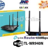 TP-Link TL-WR940N 450Mbps Wireless N Router 3 Antena TPLink WiFi RESMI