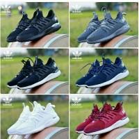 Sepatu Running Adidas Alphabounce Sneakers Cewek Cowok Hitam Navy Pink