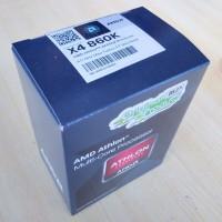 AMD Athlon X4 860K Quad-Core 3.7Ghz QUIET COOLER (FM2+) Berkualitas