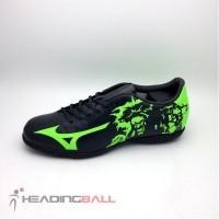 Recommended Sepatu Futsal Mizuno Original Ryuou In Black Green