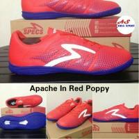 Recommended Sepatu Futsal Specs Apache In Red Poppy Futsall Promo