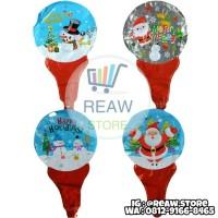Balon Foil Pentungan Christmas / Natal