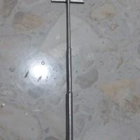 miniatur tiang listrik single 3phase mang irin bahan logam skala HO