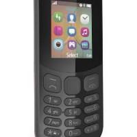 New NOKIA 130 (2017) Dual SIM Black Garansi Resmi