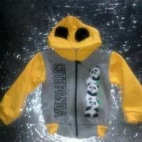 jaket anak/bayi/balita 1-2 Tahun cute panda