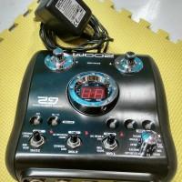 Efek Gitar/Guitar/Distorsi merk zoom G2 second (tanpa pedal)