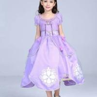 Baju Anak Dress Anak Baju Pesta Anak Perempuan Kostum Princess Sofia