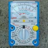 Multimeter Multitester Avometer Analog HELES type YX 393 Casing Kuat