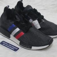 Sepatu Adidas NMD R1 PK Tricolor Black White - Premium Quality
