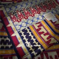 aksesoris kain tapis lampung baju adat nusantara