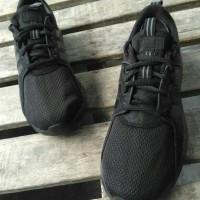 Sepatu Adidas Cloudfoam Lite Racer Full Black Original BNWB Indonesia