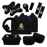 Bantal Mobil Exclusive 8 in 1 Club Real Madrid