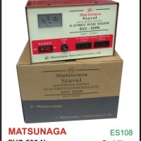 Stabilizer Matsunaga 500w Stavolt Svc 500