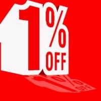 Diskon 1% Voucher 1% For Apple Watch Series 1, 2, Samsung Gear S3, Asu