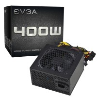 Power Supply PSU Computer PC Gaming Support 6 Pin VGA Evga 400w Pure