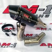 Knalpot Yoshimura R11 Carbon Ninja 250fi 250 fi Karbu RR Mono Slip On