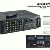 POWER ASHLEY KA 6500 amplifier karaoke original