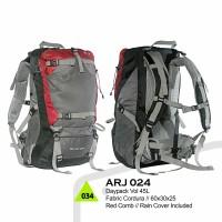 Tas Daypack Ransel Carrier 45 Liter Cordura Cocok Untuk Sekolah