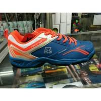 Sepatu badminton RS sirkuit 567 blue orange ORIGANAL MURAH